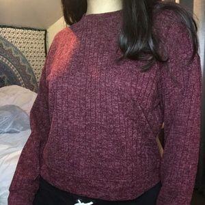 Long Sleeve Cropped Shirt